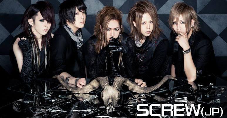 日本視覺系Screw 將在搖滾台中「能量舞台」演出