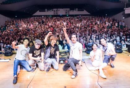 回聲樂團與 800 位歌迷嗨爆新竹清華大學大禮堂 (攝影李放晴)