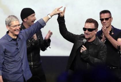 U2_蘋果發表會