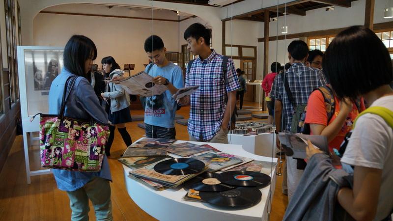 台灣唱片工業100年紀念展2