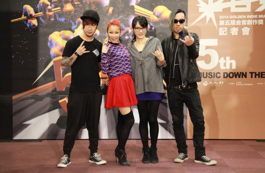 溫蘭與閃靈樂團將於頒獎當天合作演出。