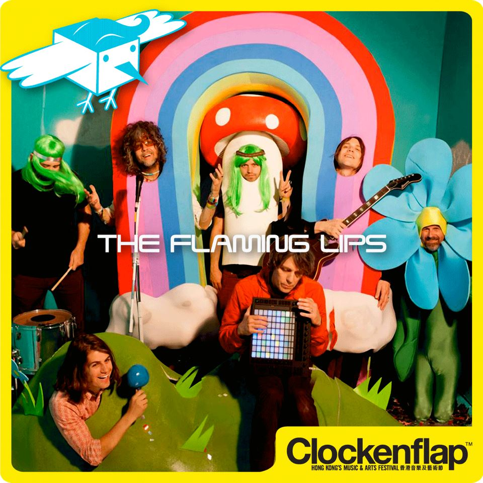 clockenflap theflaminglips