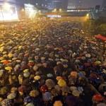 香港獨立樂團齊心獻聲雨傘革命〈守〉