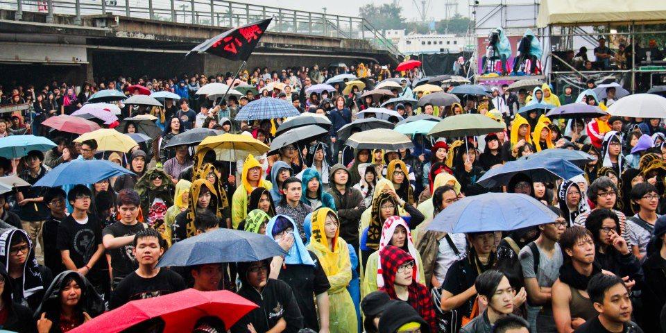 大港開唱每屆都能推出全新ㄎㄧㄤ梗,才能吸引樂迷風雨無阻!