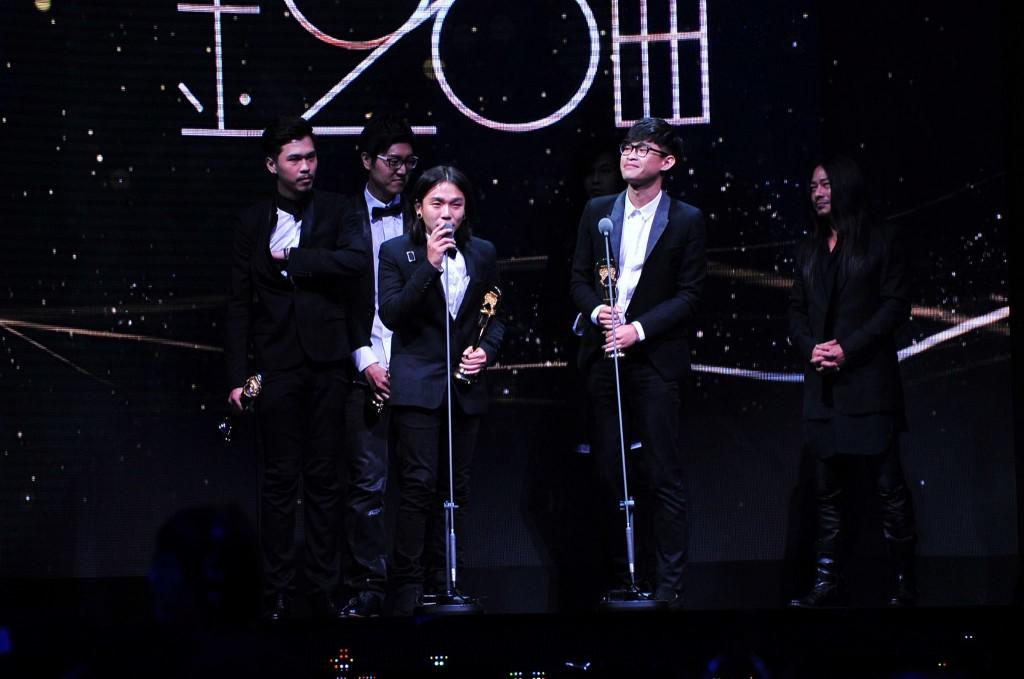 麋先生在金音獎全軍覆沒,卻得到金曲獎的最佳樂團榮譽。 (圖片來源:金曲 GMA)