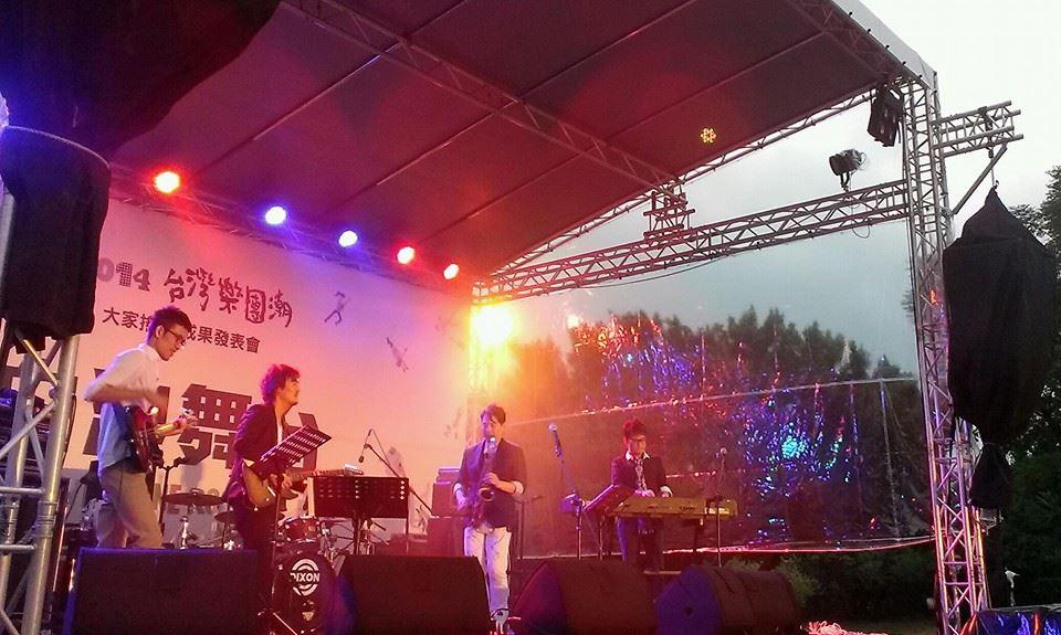 去年無限融合在樂團潮的演出。