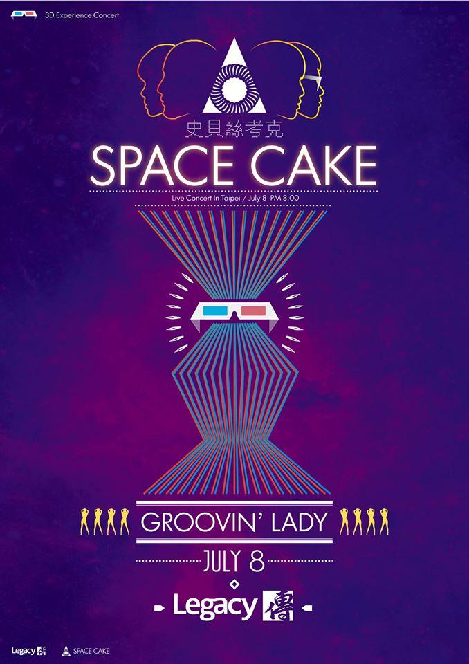 SPACE CAKE_發行演出