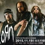 20 年就等這次!Nu-Metal 教父級樂團 Korn 台北演唱會預售票開賣囉!