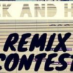 女孩與機器人新歌募集臥室音樂家進行一個 Remix 的動作