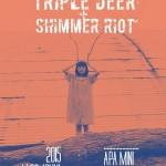 Triple Deer & Shimmer Riot 來場暖心顧腎的後搖派對吧!