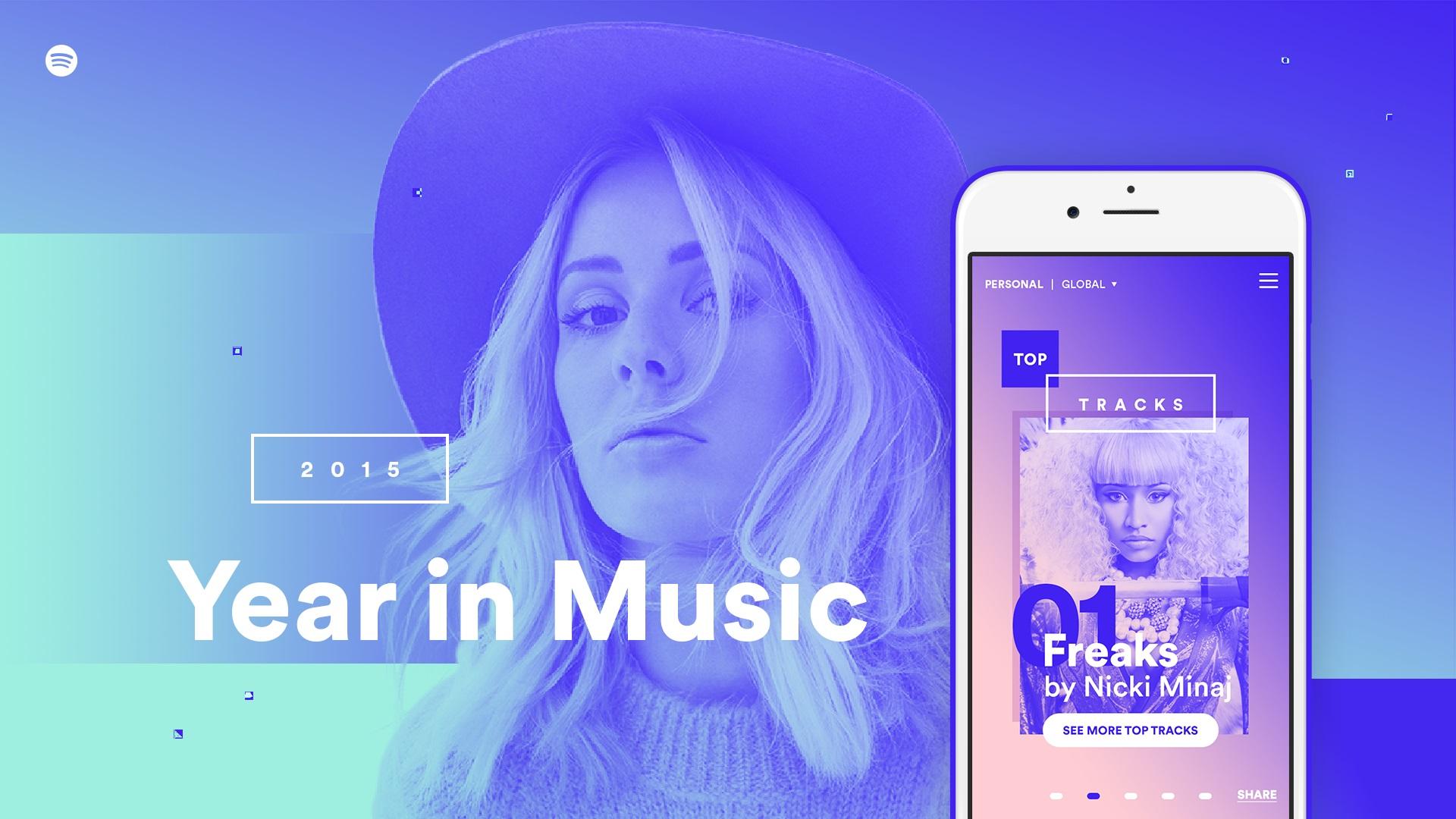 Spotify 2015 年度音樂