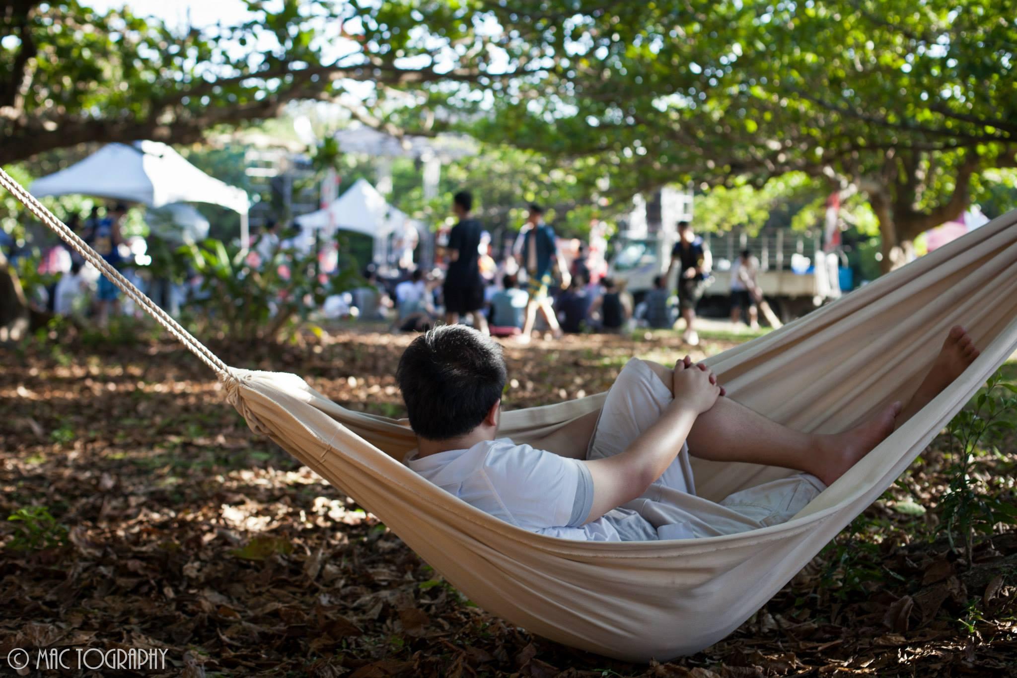 哪個音樂祭可以邊躺吊床邊看表演?