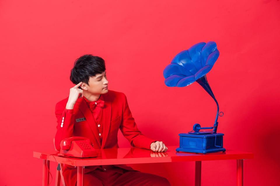 圖三:陳建瑋透過新作《古倫美亞》向台灣早期唱片時代致敬。