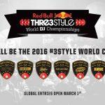 Red Bull Thre3style 世界 DJ 大賽報名全球啟動!