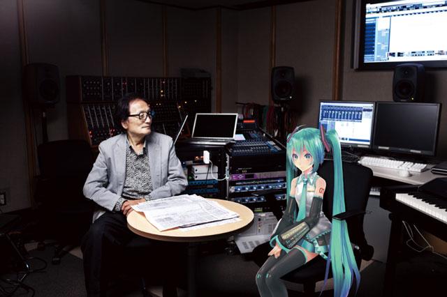 冨田勲儘管已是祖師級人物,依然樂於嘗試電子音樂的新可能。2012 年即與虛擬歌手初音未來合作交響樂作品大受好評,原預計今年底將與 MIKU 醬再推新作。