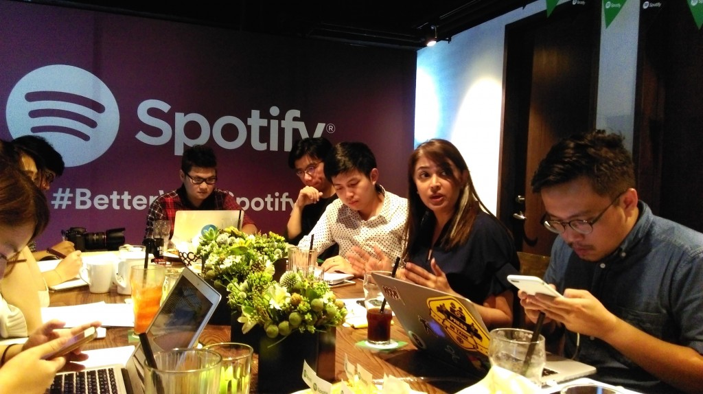 Spotify 亞太區總監 Sunita Kaur 多次強調串流平台並沒有直接面對音樂人,而是版權所有人,希望澄清誤解。
