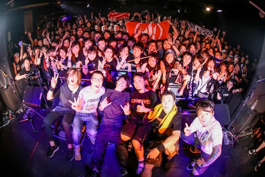 滅火器今年六月於東京個唱爆滿盛況。