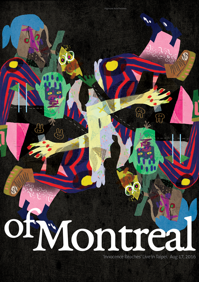 0817 of Montreal Taipei Poster
