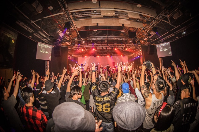 2016年在Legacy台北舉辦的THAT'S MY SHHH x I.M. PARTY