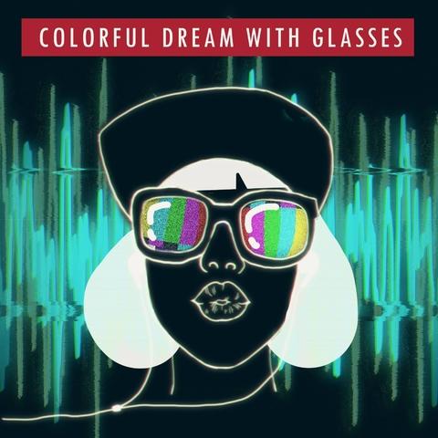 一種心情《戴著眼鏡睡覺,作彩色的夢》