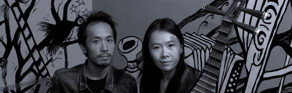「藍。掉」由琵琶演奏家鍾玉鳳和彈奏共鳴器吉他、12 弦老吉他的藍調樂人 David Chen 共同組成,展開一場新鮮的音樂跨界實驗。樂團也在今年四月發行了首張同名專輯《藍。掉 Fade to Blue》。