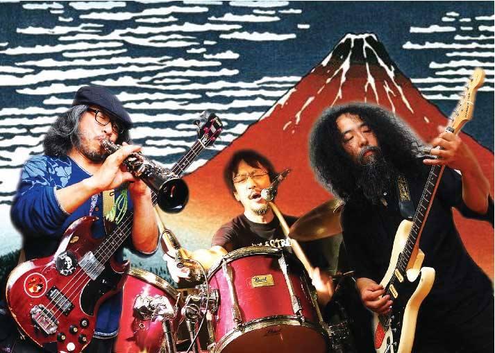 Japan New Music Festival 左起: 津山篤、吉田達也、河端一。