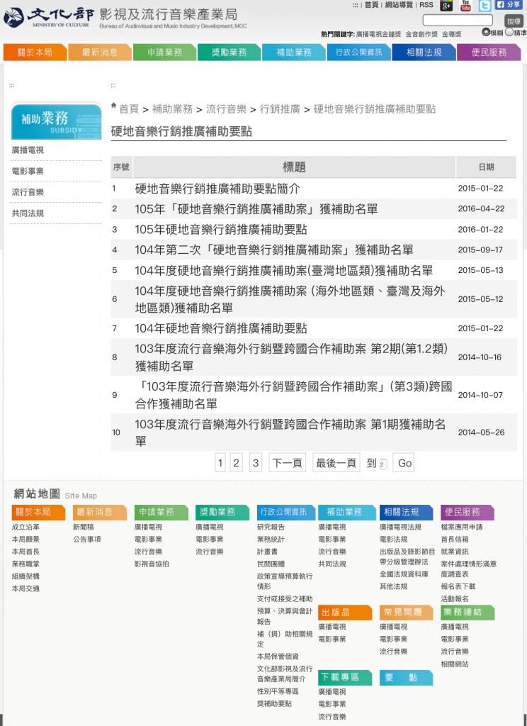 台灣文化部流行音樂產業局