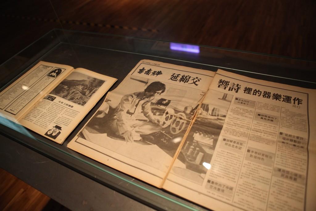 民歌時期影響音樂推廣的重要文物:滾石雜誌。