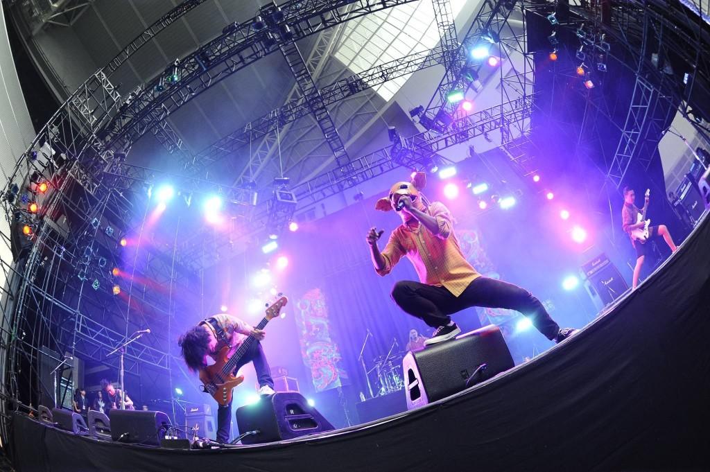 繼閃靈之後,血肉果汁機也成為登上亞洲最大金屬音樂祭 Loud Park 的台灣第二團。