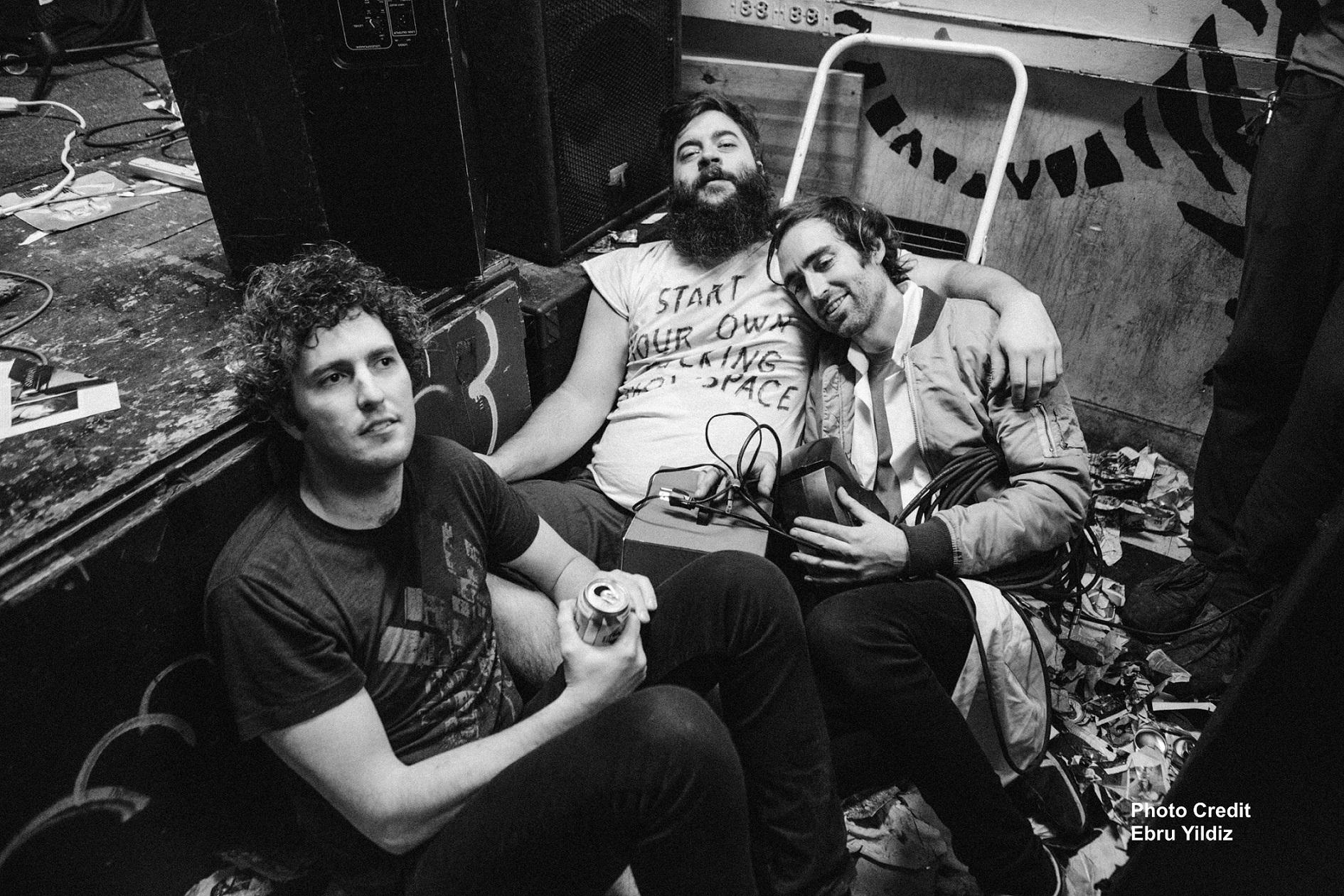 Death By Audio 的核心經營團隊(由左至右):Matt Conboy;Edan Wilber;Oliver Ackermann