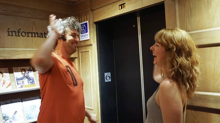 《再見地下布魯克林》導演 Matt Conboy 與製片 Amanda Schultz