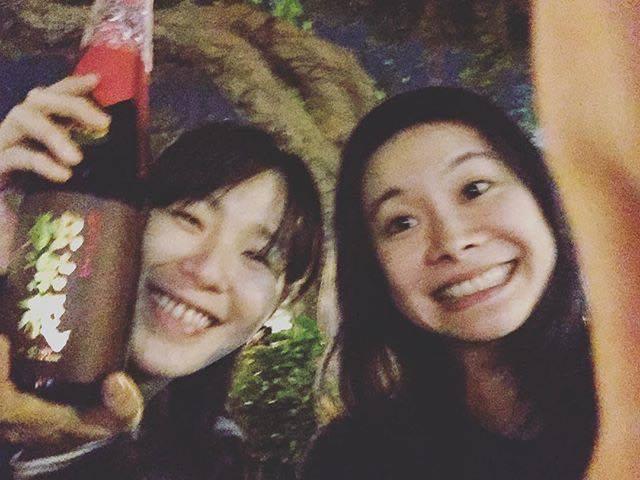 安溥(左)與宜農(右)合照(照片來源:宜農的Instagram)
