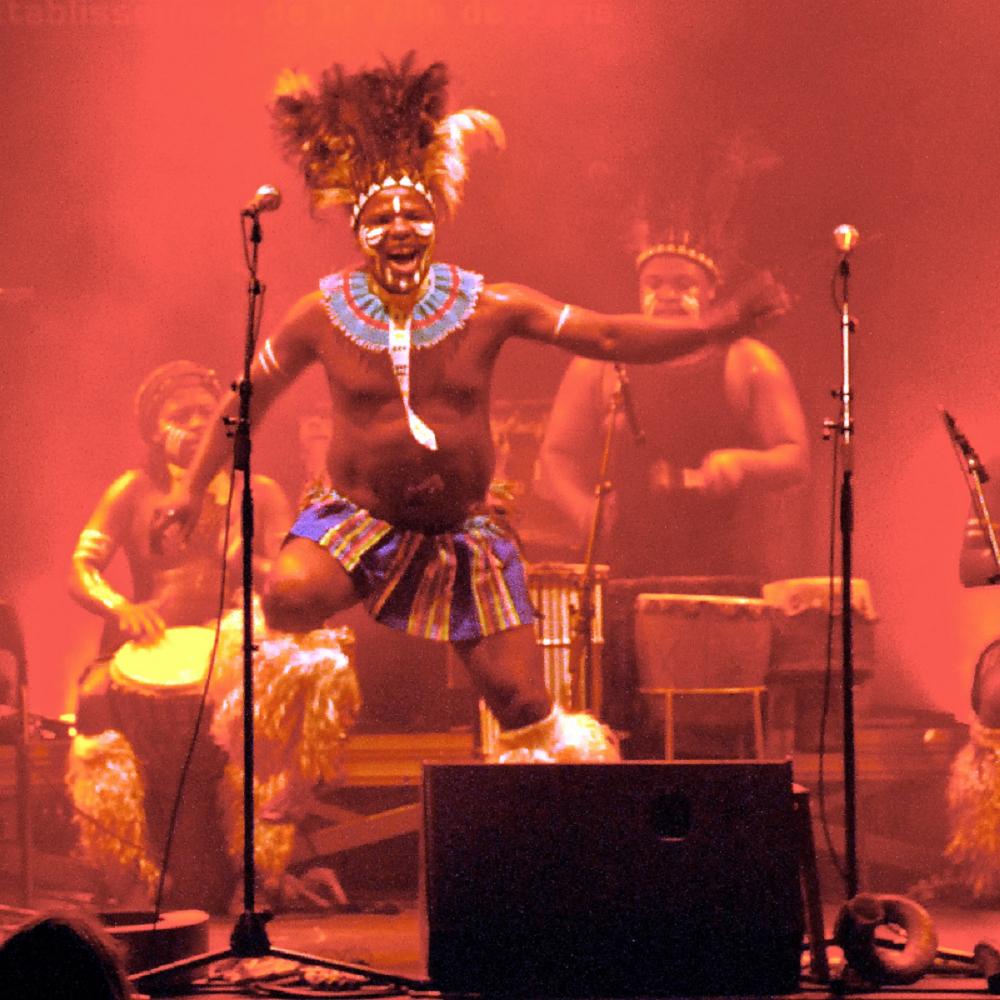 Dizu Plaatjies & Ibuyambo Ensemble|南非 (圖片提供:風潮音樂)01