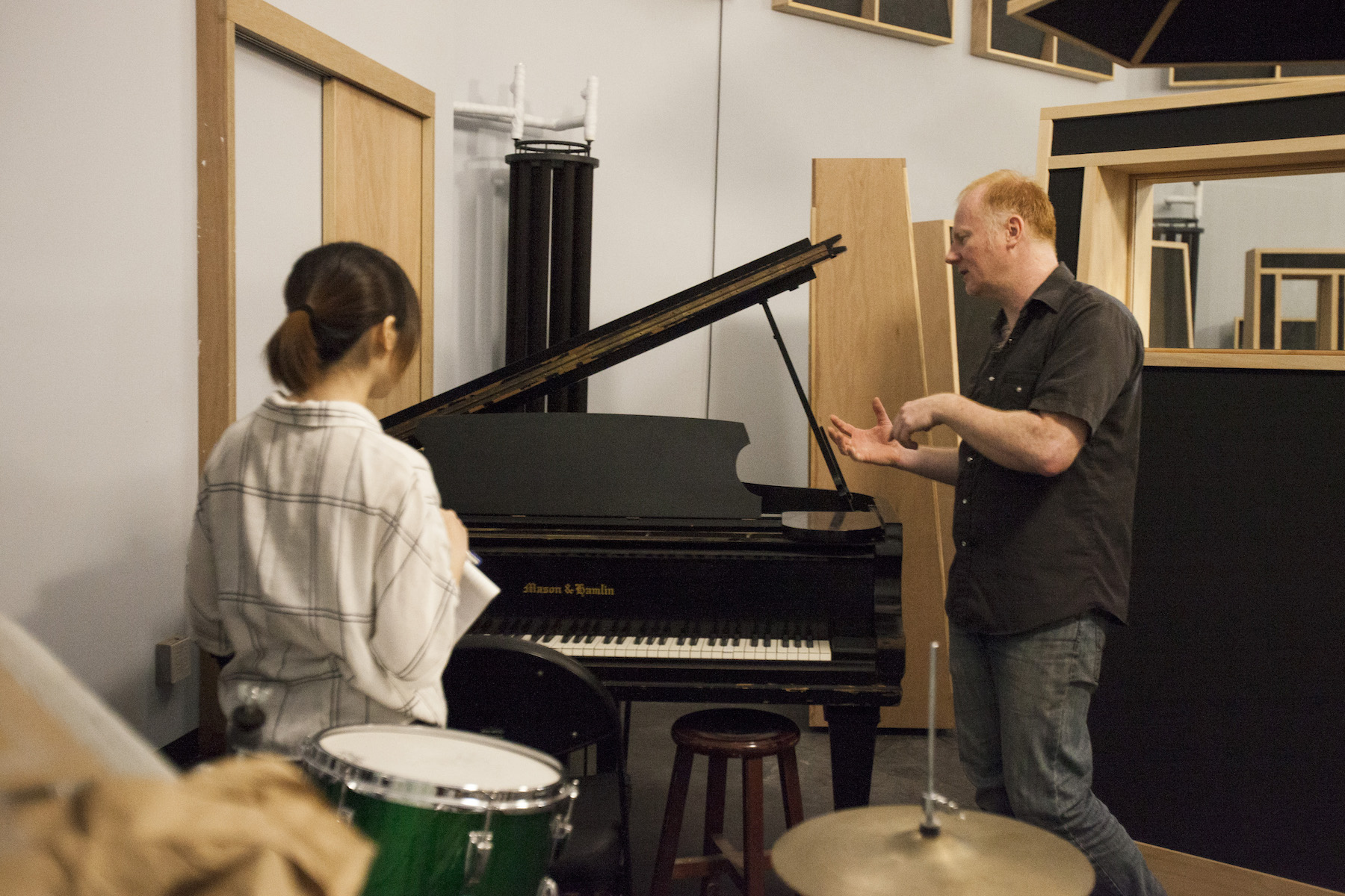 鋼琴也是Andy從美國帶來的,1965年的Mason & Hamlin,雖然在台灣很少見,但據說在美國算是相當普及的品牌。