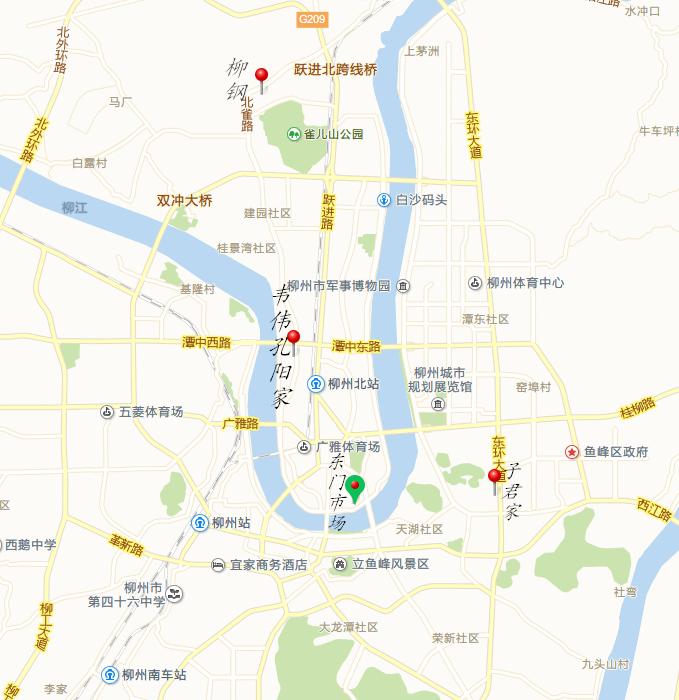 東門市場是旅行團經常買打口碟的地方,這張地圖可以和孔陽的手繪地圖對照看。