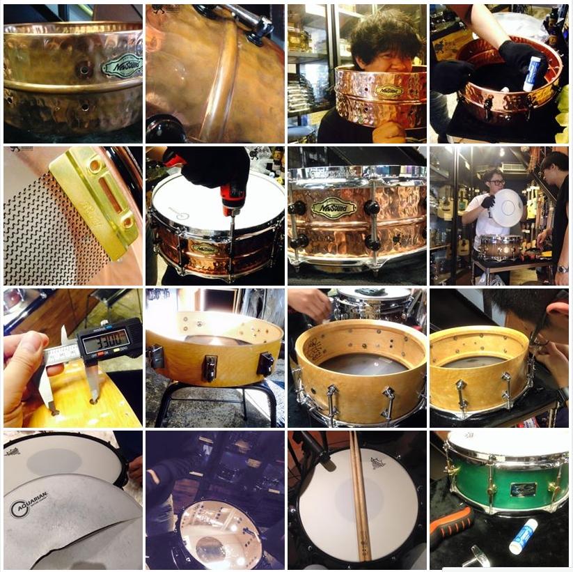 「小鼓保養維修案例討論」相簿截圖,每顆鼓都有自己的故事!