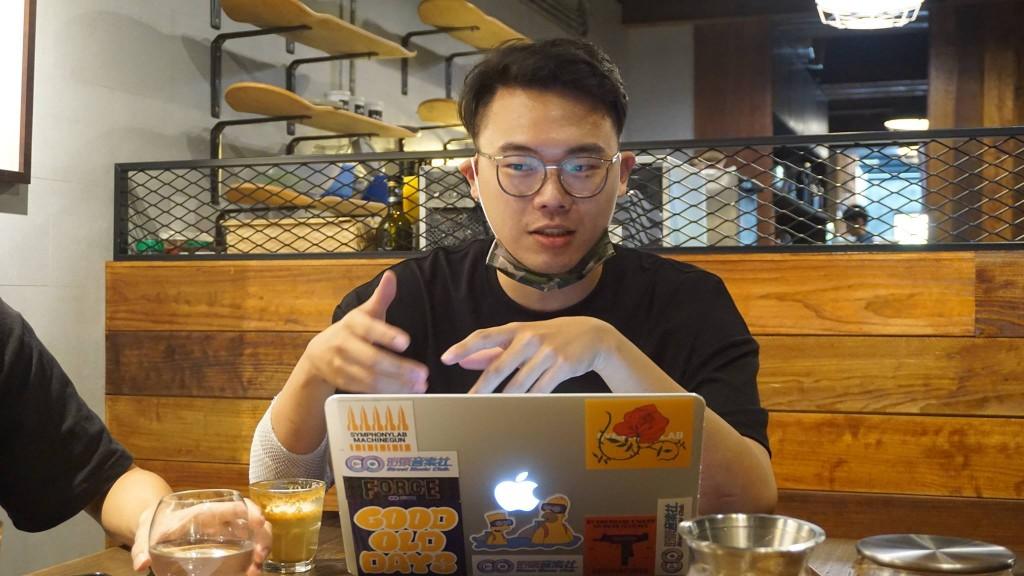 來自世新街音社的吳宣廷把社團的行銷經驗,帶到 UnderDog