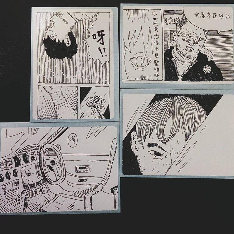 春艷的插畫作品(via)