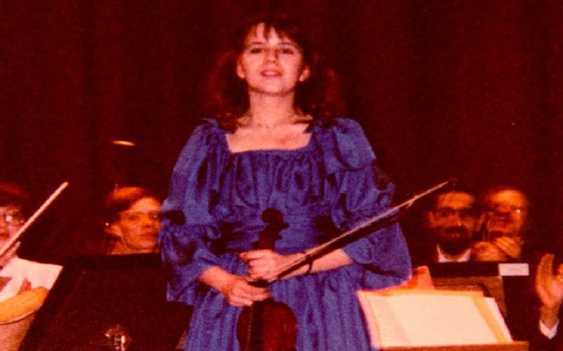 年輕時,還未發生意外癱瘓的 Rosemary Johnson。