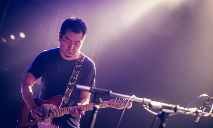 「惘聞」吉他手:耿鑫(攝影:Hasong)