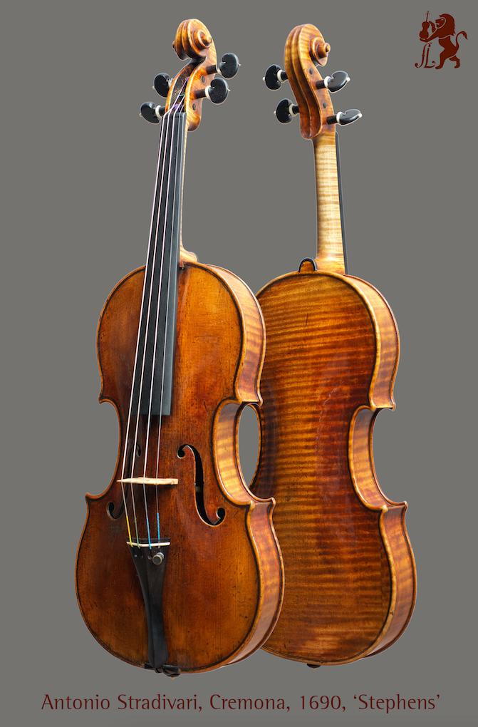 1690 年的史特拉底瓦里名琴「Stephens」