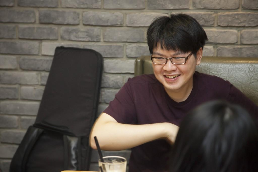 邵軒畢業後要到台北找工作,能做自己想做的事也不會因此有經濟問題的話,就是現階段最大的滿足。