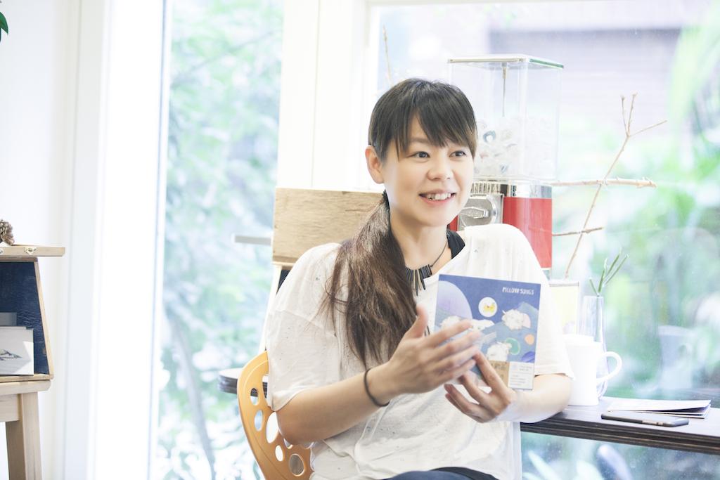 何欣穗:「我覺得我比較不像那種,什麼姊姊,什麼阿姨那種,什麼水果類的。」