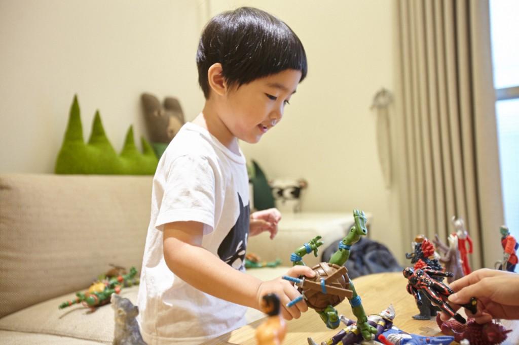 忍者龜與鹹蛋超人開啟戰鬥模式。
