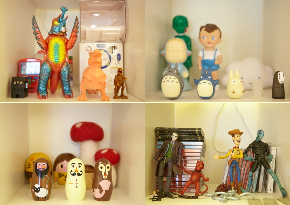 集可愛與獵奇於一櫃的各種收藏。