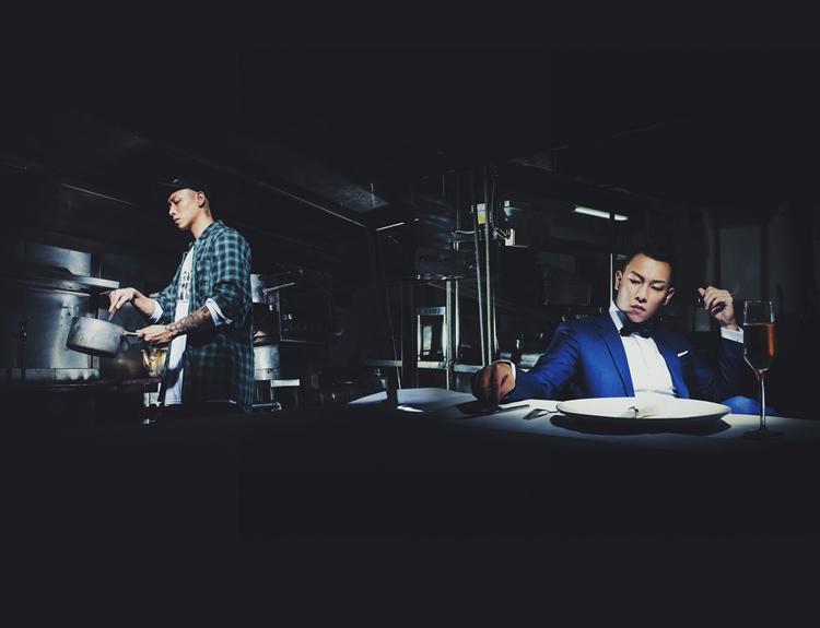 「做Hip-hop的人,會說做音樂是『cooking beat』。」二十歲的瘦子煮飯給現在的自己吃,意味著年輕時自己渴望作品被看見聽見,現在則更有能力幫助後輩。