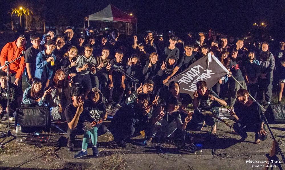 【圖說5】〈煙囪Chimney〉專場演出大成功!團員歌迷大合照