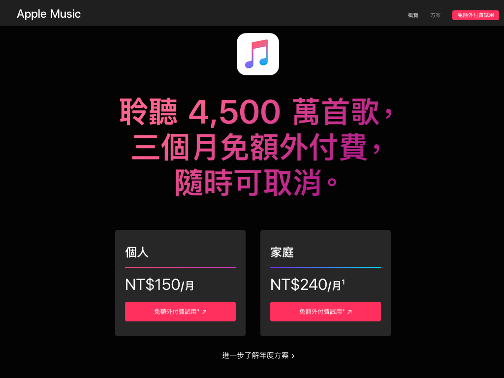 翻攝 APPLE MUSIC