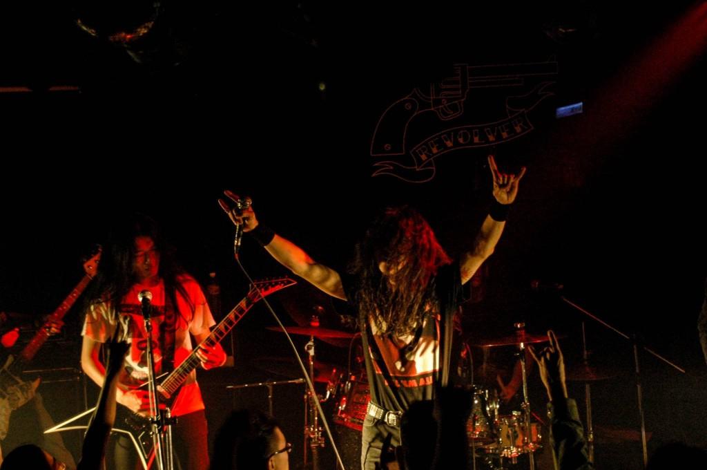 vol.3 請到來自中部參加過兩屆的 Mutation突變異種,目前台灣少數僅存的鞭擊金屬樂團。