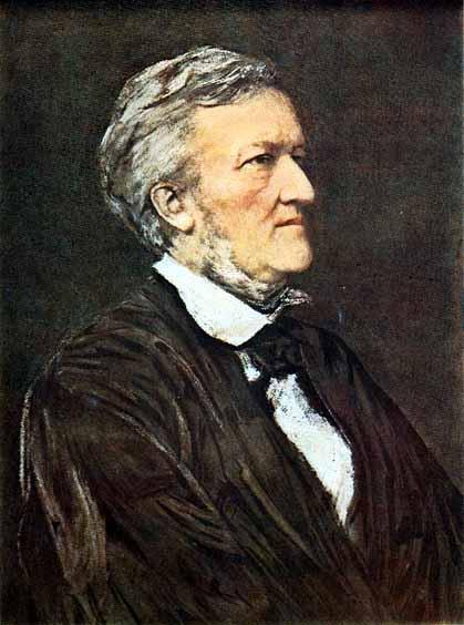 華格納。普魯斯特本身音樂素養極高,他在書中直接評論了許多當代的音樂家,除華格納外,還論及佛瑞、法朗克、德布西和聖桑等人的作品。